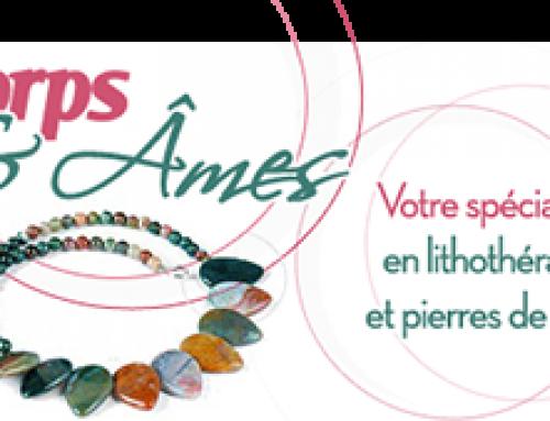 Les bijoux, à la fois esthétique et thérapeutique de chez Corps et Ames