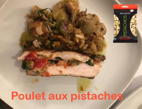 Recette : Poulet aux pistaches piquantes Wonderful