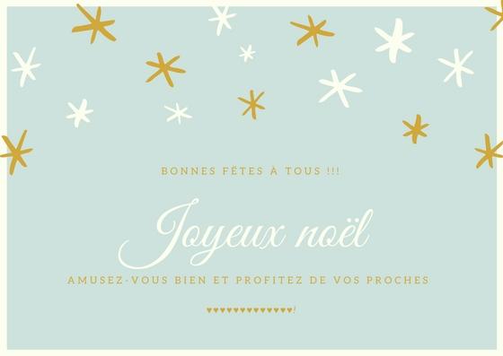 Joyeux NOEL ….