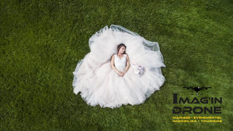 Les trois raisons de prendre un Drone pour son mariage