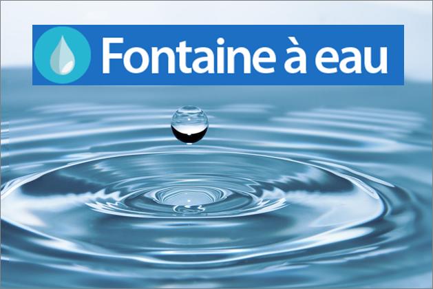 Top 3 des raisons d'avoir une fontaine à eau